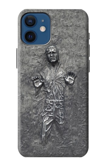 Printed Han Solo in Carbonite iPhone 12 mini Case