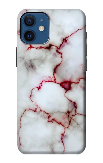 Printed Bloody Marble iPhone 12 mini Case