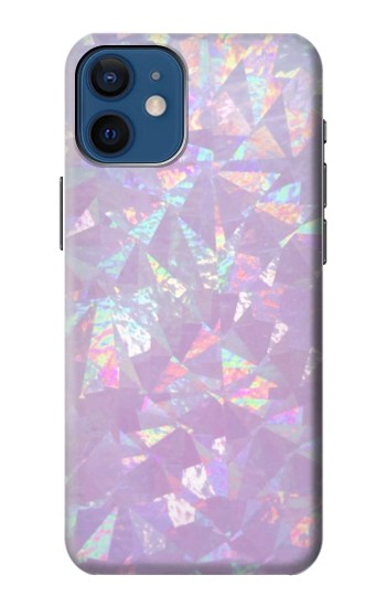 Printed Iridescent Holographic Photo Printed iPhone 12 mini Case