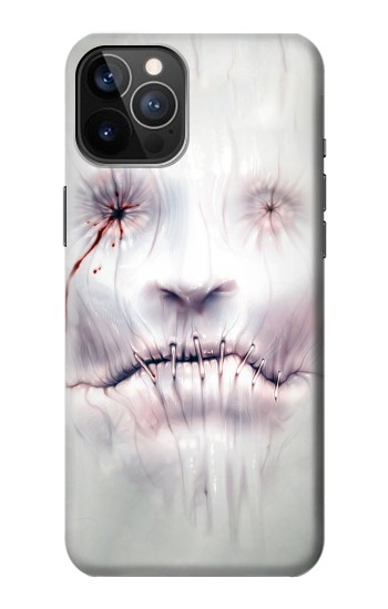 Printed Horror Face iPhone 12 Pro Case