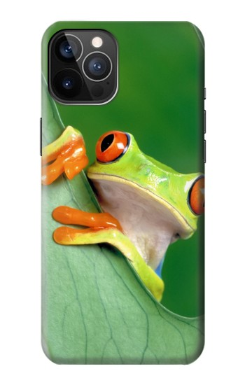 Printed Little Frog iPhone 12 Pro Case
