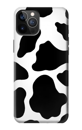 Printed Seamless Cow Pattern iPhone 12 Pro Case