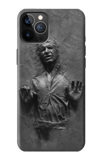 Printed Han Solo Frozen in Carbonite iPhone 12 Pro Case