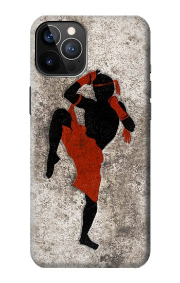 Printed Muay Thai Fight Boxing iPhone 12 Pro Case