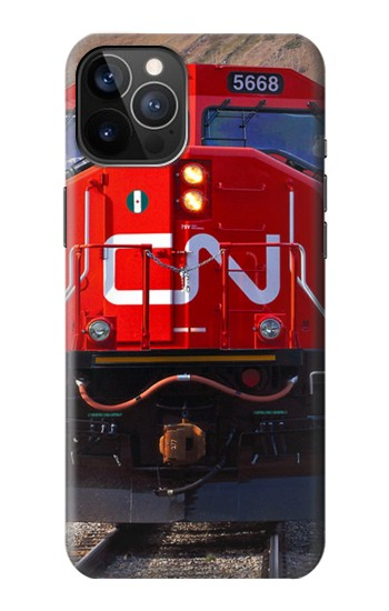Printed Train Canadian National Railway iPhone 12 Pro Case