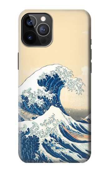 Printed Under the Wave off Kanagawa iPhone 12 Pro Case
