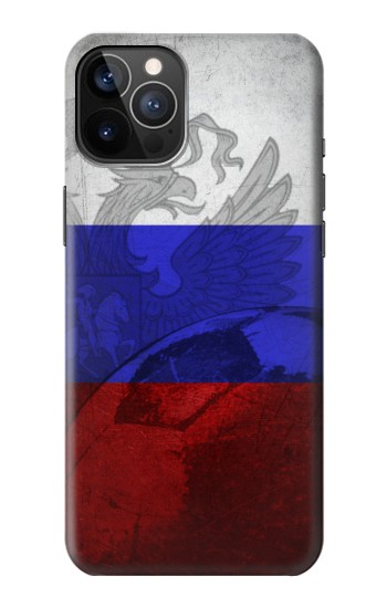 Printed Russia Football Flag iPhone 12 Pro Case
