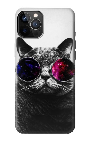Printed Cool Cat Glasses iPhone 12 Pro Case