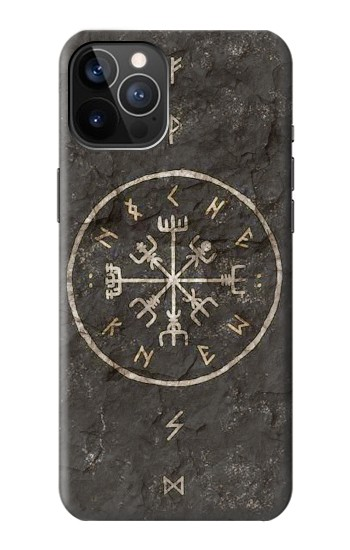Printed Norse Ancient Viking Symbol iPhone 12 Pro Case