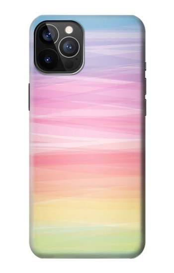 Printed Colorful Rainbow Pastel iPhone 12 Pro Case