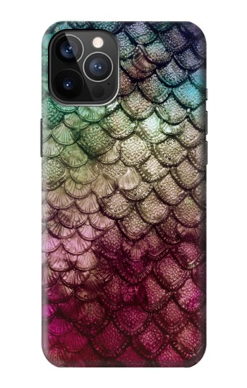Printed Mermaid Fish Scale iPhone 12 Pro Case