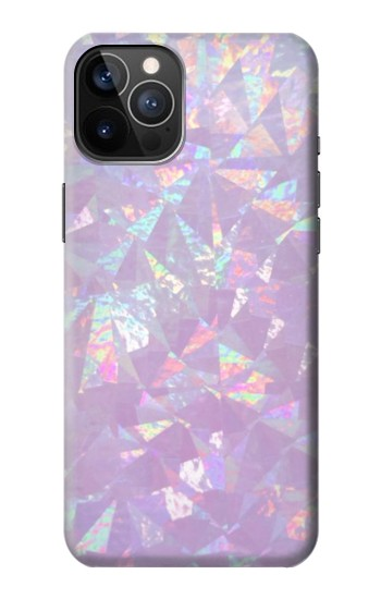 Printed Iridescent Holographic Photo Printed iPhone 12 Pro Case