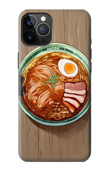 Printed Ramen Noodles iPhone 12 Pro Case