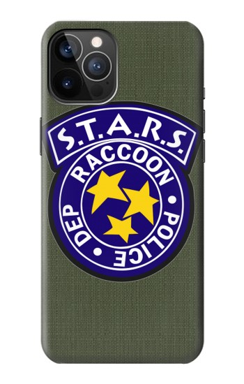 Printed Resident Evil Star Badge Chris Outfit iPhone 12 Pro Case