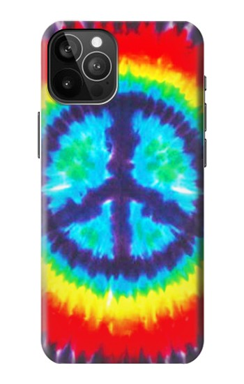 Printed Tie Dye Peace iPhone 12 Pro Max Case