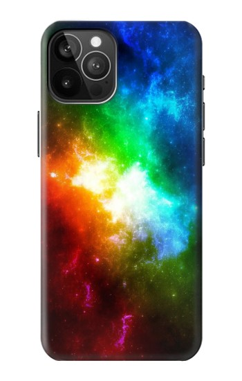 Printed Colorful Rainbow Space Galaxy iPhone 12 Pro Max Case