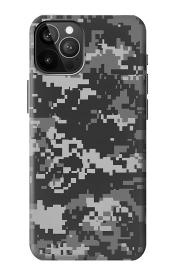 Printed Urban Black Camouflage iPhone 12 Pro Max Case