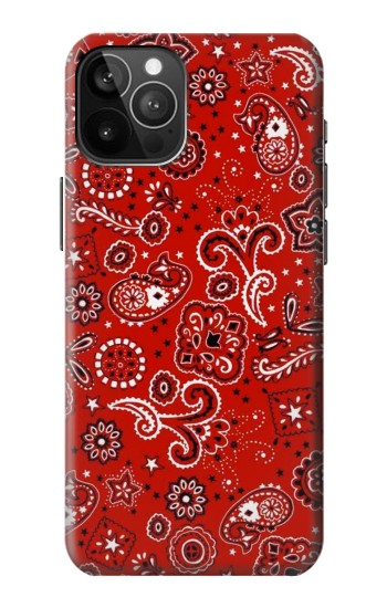 Printed Red Bandana iPhone 12 Pro Max Case