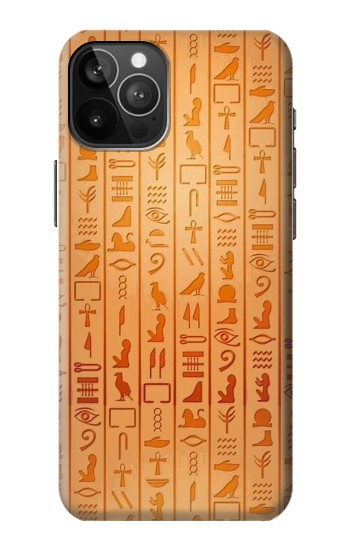 Printed Egyptian Hieroglyphs iPhone 12 Pro Max Case