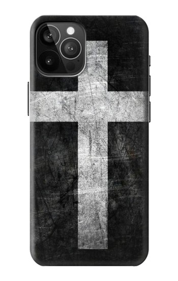 Printed Christian Cross iPhone 12 Pro Max Case