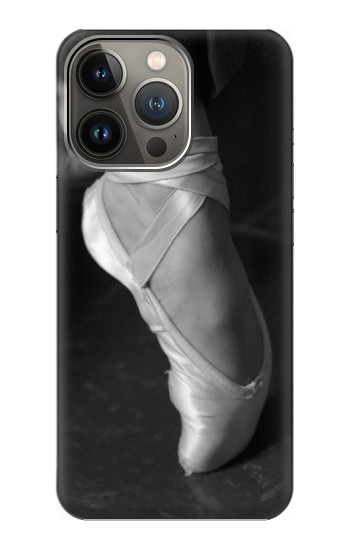 Printed Ballet Pointe Shoe iPhone 13 Pro Case