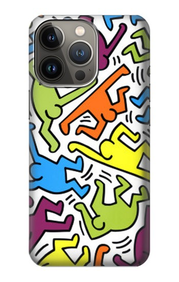 Printed Keith Haring iPhone 13 Pro Max Case