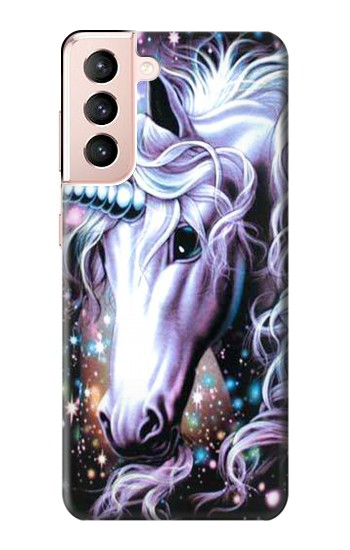 Printed Unicorn Horse Samsung Galaxy S21 5G Case