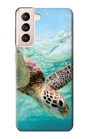 Printed Ocean Sea Turtle Samsung Galaxy S21 5G Case