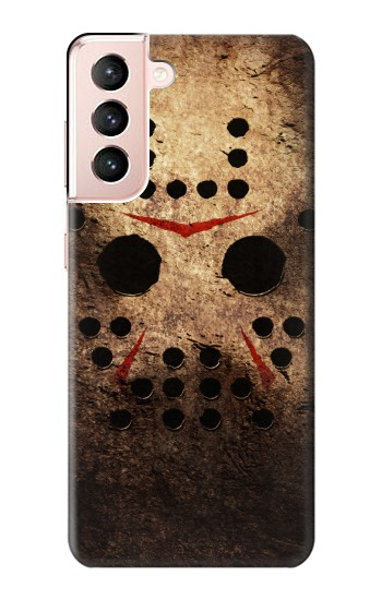 Printed Jason Hockey Mask Samsung Galaxy S21 5G Case