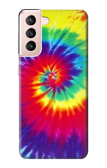Printed Tie Dye Fabric Color Samsung Galaxy S21 5G Case