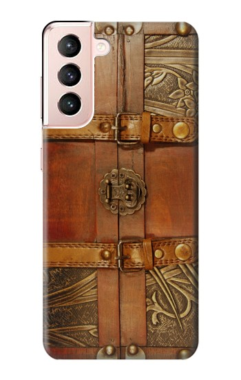 Printed Treasure Chest Samsung Galaxy S21 5G Case