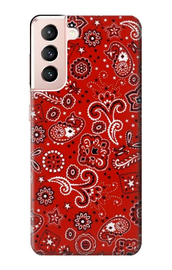 Printed Red Bandana Samsung Galaxy S21 5G Case