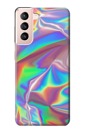 Printed Holographic Photo Printed Samsung Galaxy S21 5G Case