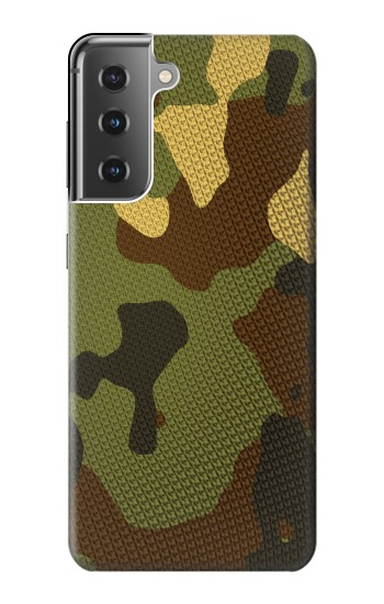 Printed Camo Camouflage Graphic Printed Samsung Galaxy S21+ 5G Case