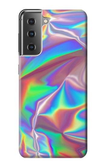 Printed Holographic Photo Printed Samsung Galaxy S21+ 5G Case
