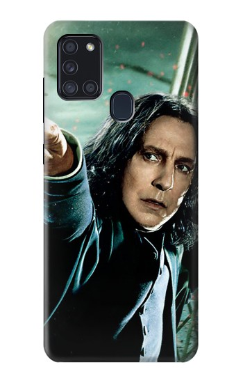 Printed Harry Potter Snape Samsung Galaxy A21s Case