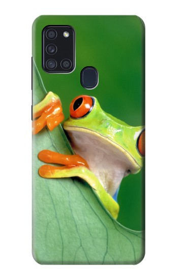 Printed Little Frog Samsung Galaxy A21s Case