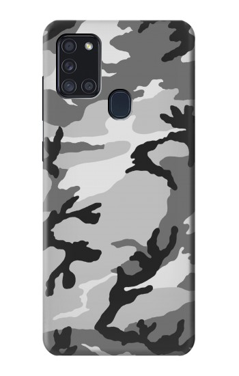 Printed Snow Camo Camouflage Graphic Printed Samsung Galaxy A21s Case