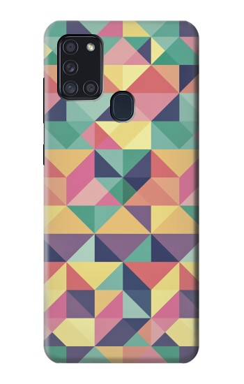 Printed Variation Pattern Samsung Galaxy A21s Case