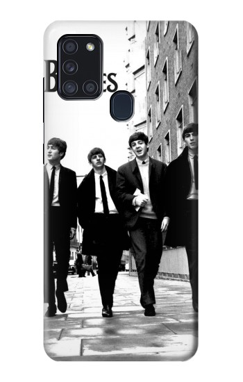 Printed The Beatles in London Samsung Galaxy A21s Case