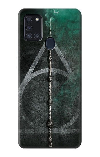 Printed Harry Potter Magic Wand Samsung Galaxy A21s Case