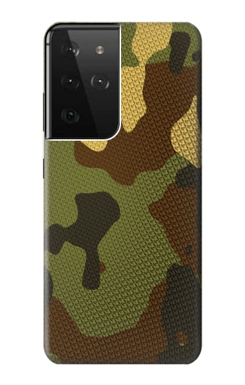 Printed Camo Camouflage Graphic Printed Samsung Galaxy S21 Ultra 5G Case