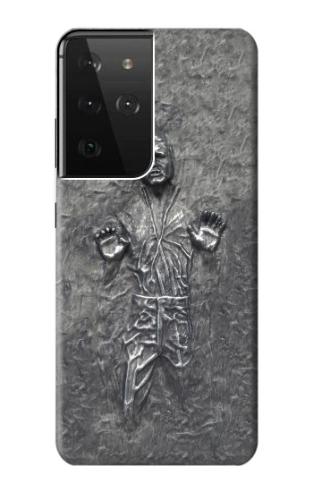 Printed Han Solo in Carbonite Samsung Galaxy S21 Ultra 5G Case