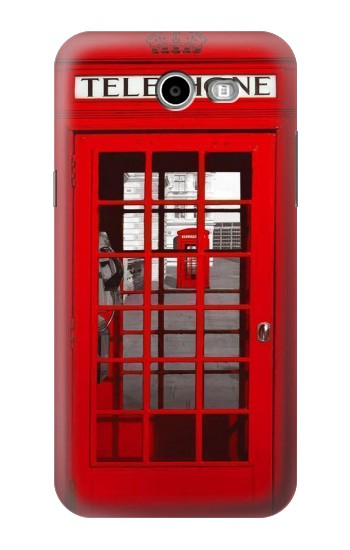 Printed Classic British Red Telephone Box Samsung Galaxy J3 Emerge Case