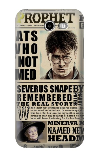 Printed Harry Potter Daily Prophet Samsung Galaxy J3 Emerge Case