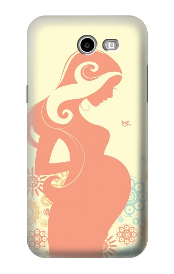 Printed Pregnant Art Samsung Galaxy J3 Emerge Case
