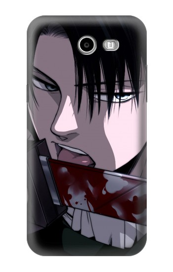 Printed Attack on Titan Rivaille Levi Samsung Galaxy J3 Emerge Case