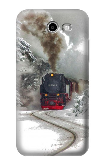 Printed Steam Train Samsung Galaxy J3 Emerge Case