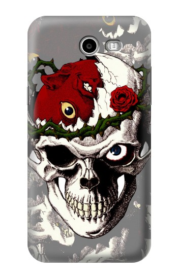 Printed Berserk Skull Beherit Egg Tattoo Samsung Galaxy J3 Emerge Case