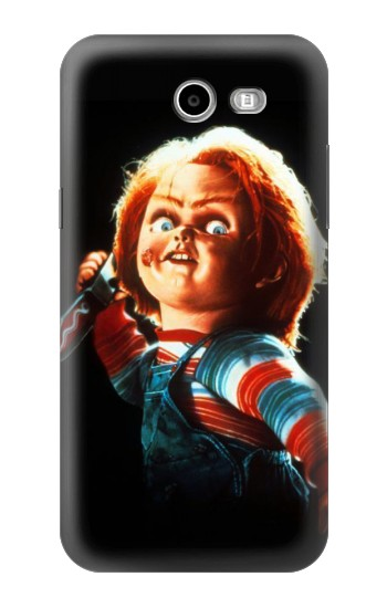 Printed Chucky With Knife Samsung Galaxy J3 Emerge Case